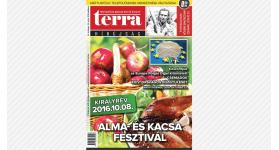 Megjelent a TERRA Hírújság októberi száma (2016)