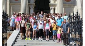 A Zsigárdi Alapiskola tanulói Budapesten