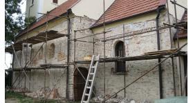 Folytatódik a kismácsédi templom restaurálása