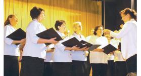 Húsz éves a deáki Nefelejcs énekkar