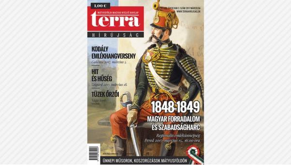 Megjelent a TERRA Hírújság márciusi száma (2017)