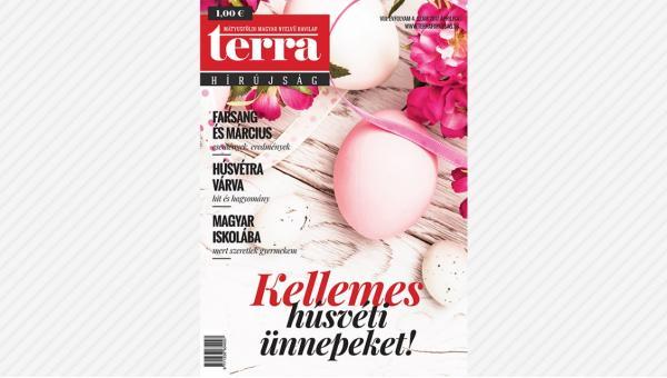 Megjelent a TERRA Hírújság áprilisi száma (2017)